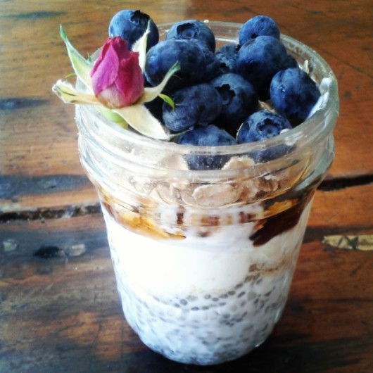 Maple Cinnamon Chia Pudding Parfait
